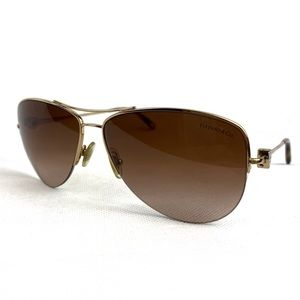 Tiffany | Aviator Brown Gold Tortoise Sunglasses